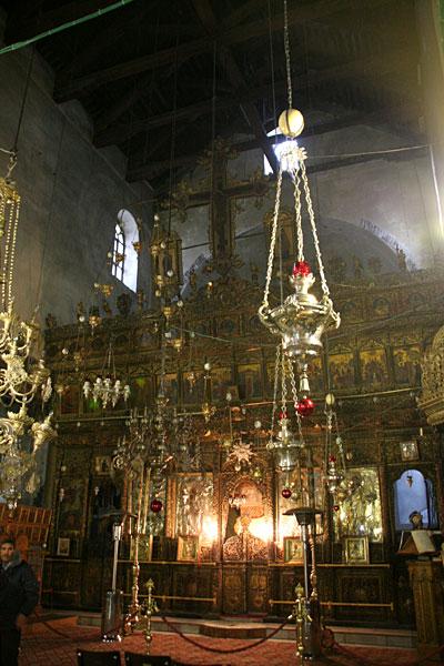 Иконостас базилики Рождества Христова