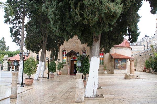 Храм св. Георгия Победоносца в Кане Галилейской