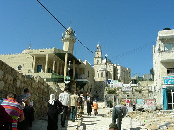 Дорога к гробнице святого Лазаря