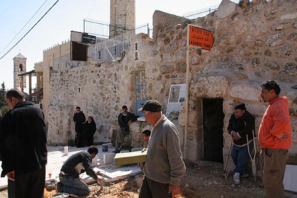 Вход в гробницу святого Лазаря