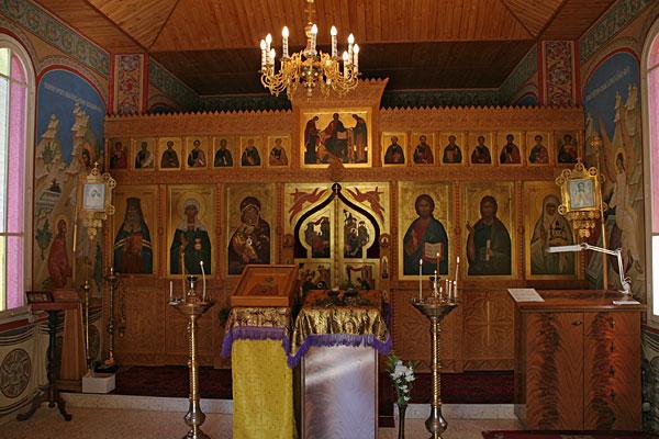 Иконостас церкви св. Марии Магдалины