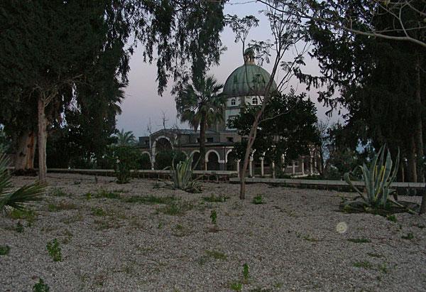 Монастырь на горе Блаженств