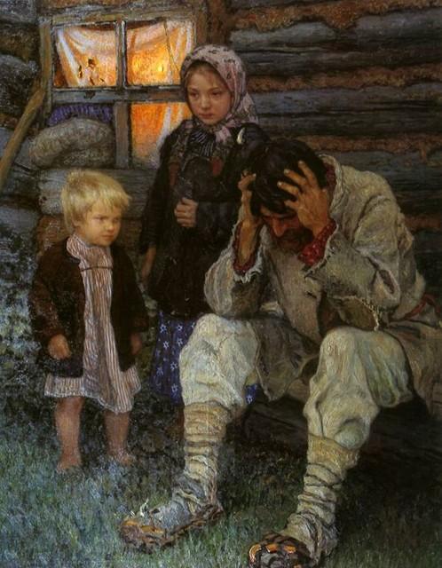 Богданов-Бельский Н.П. Горе.