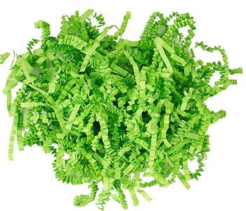 Зеленая трава из бумаги