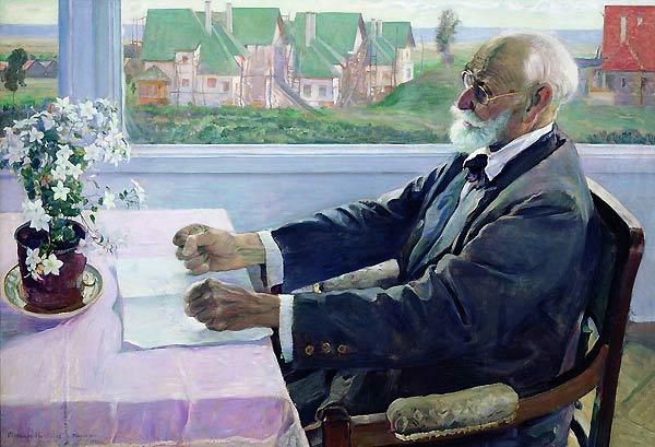 Портрет академика Павлова