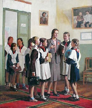 И. Владимиров - В женской школе