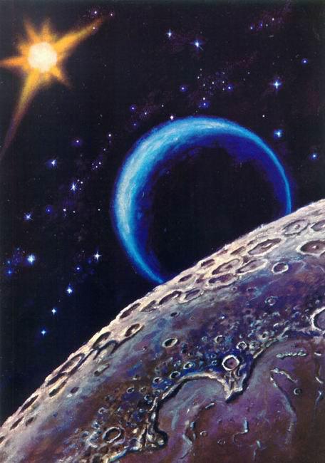 Детские стихи про космос, звезды и планеты