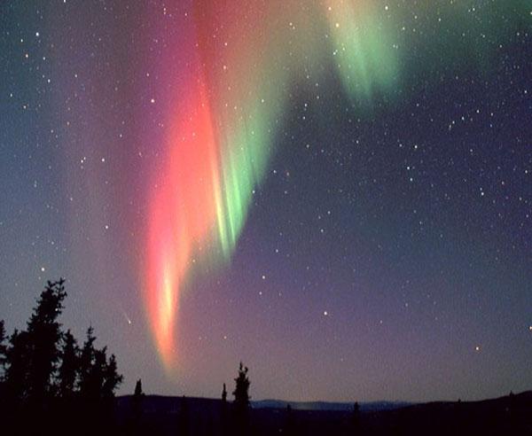 Стихи Ломоносова про северное сияние и звезды