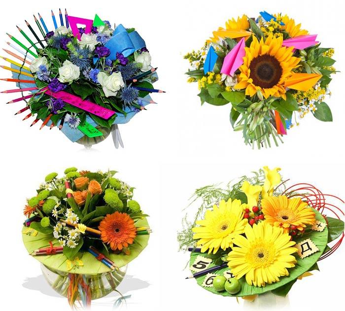 Маленькие недорогие букетики цветов