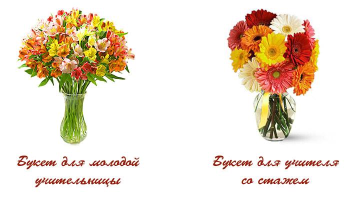 Выбрать букет по цвету, заказ свадебных букетов в красноярске